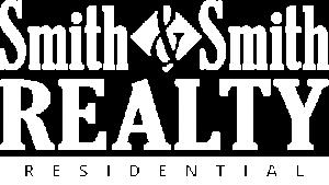 Smith and Smith Realty - Residential, White Logo